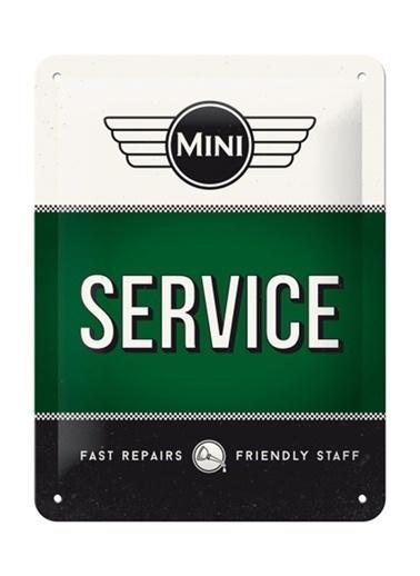 Nostalgic Art Mini Service Green Duvar Panosu Renkli